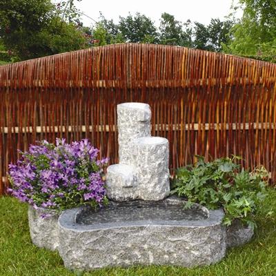 Granit vandspil til terrasse   stilles direkte på fliser   køb ...
